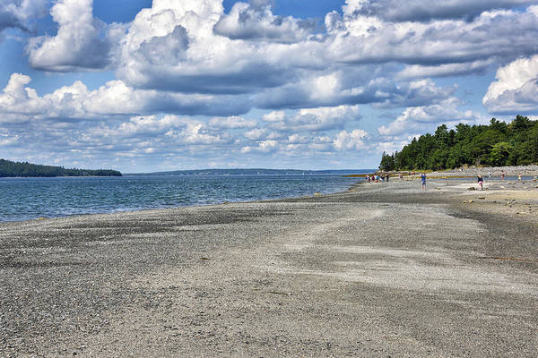 Wall Art - Photograph - Bar Harbor - Land Bridge To Bar Island - Maine by Brendan Reals