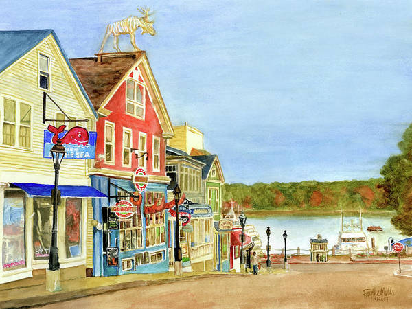 Bar Harbor Maine Art Print