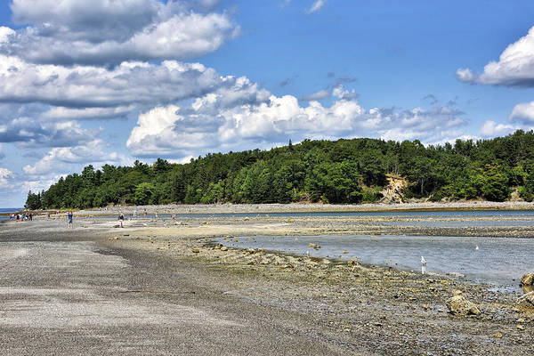 Wall Art - Photograph - Bar Harbor Maine - Land Bridge To Bar Island by Brendan Reals