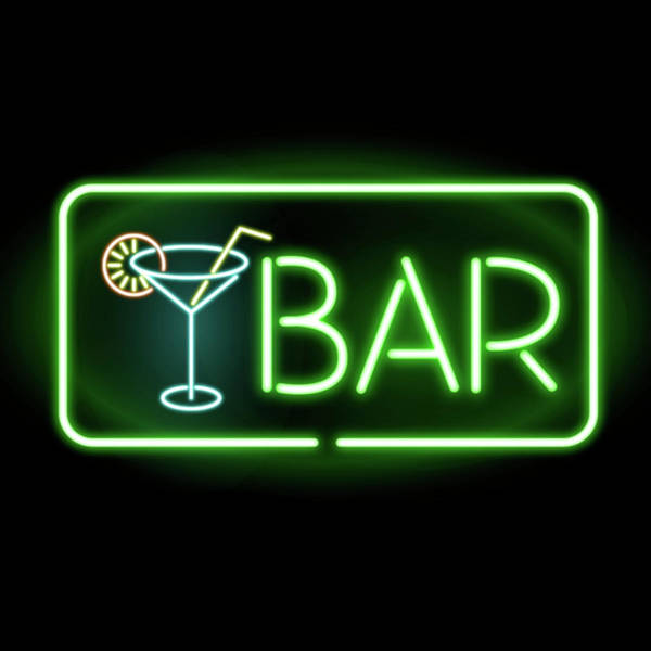 Neon Lights Mixed Media - Bar Neon  by Gina Dsgn