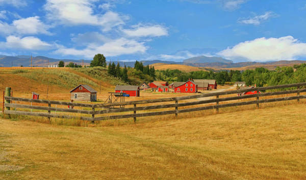 Photograph - Bar U Ranch Alberta, Canada by Ola Allen