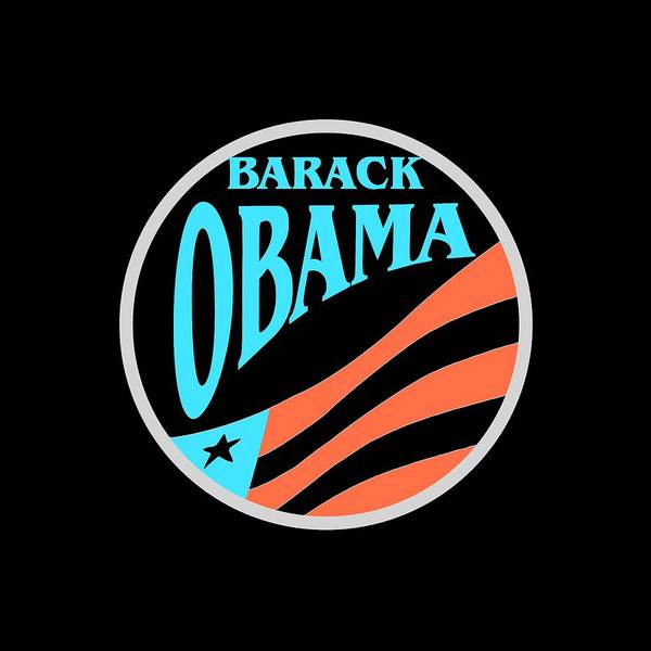 Mixed Media - Barack Obama Design by Peter Potter
