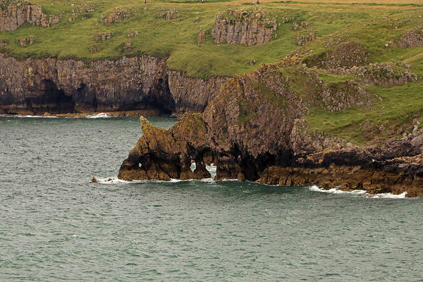 Photograph - Barafundle Cliffs by Tony Murtagh