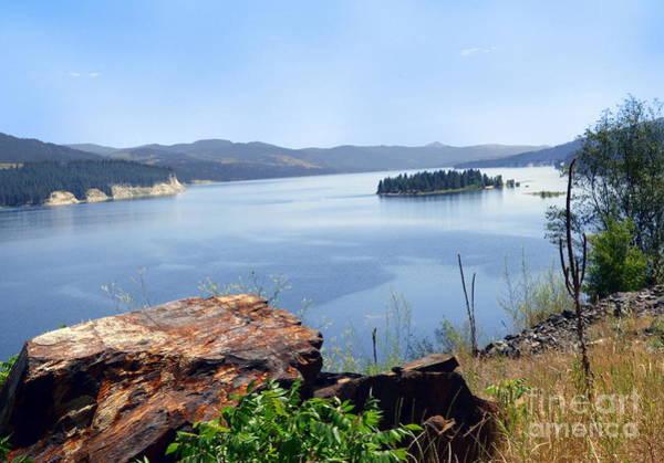 Photograph - Baranaby Island Lake Roosevelt by Charles Robinson