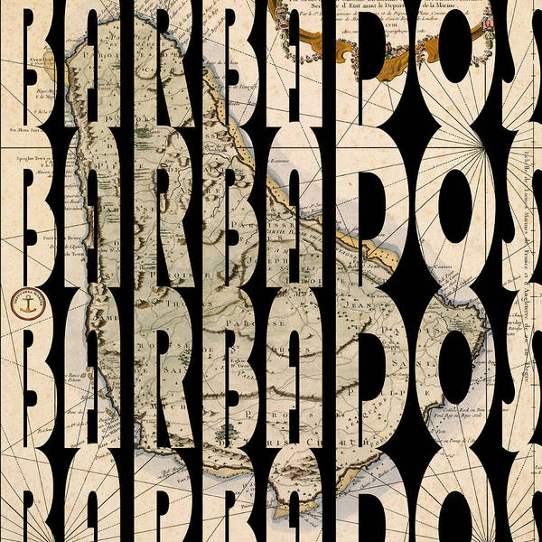 Photograph - Barbados 1758 by Andrew Fare