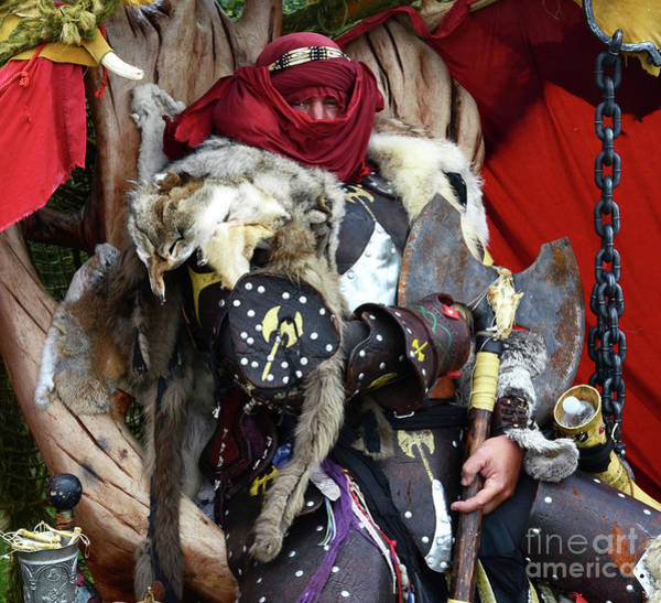 Wall Art - Photograph - Barbarian Renaissance Festival by Bob Christopher