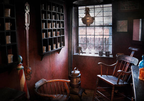 Photograph - Barber - The Country Barber  by Mike Savad