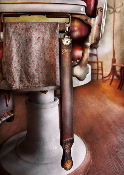 Photograph - Barber - The Strop by Mike Savad