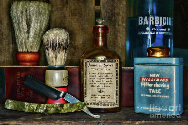 Taper Photograph - Barber-after The Shave by Paul Ward
