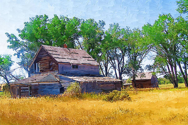 Photograph - Barber Homestead by Susan Kinney