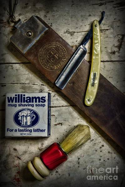 Taper Photograph - Barber - Make It A Close Shave by Paul Ward