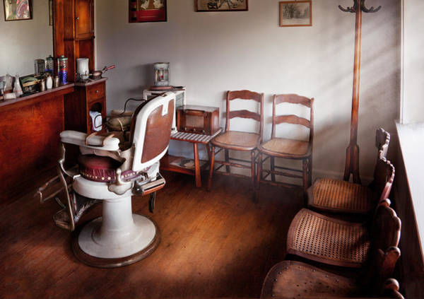 Stylists Photograph - Barber - Ready For An Audience by Mike Savad