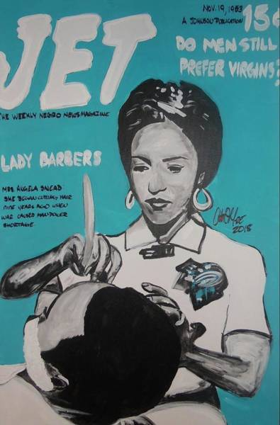 Painting - Barber Shortage by Antonio Moore