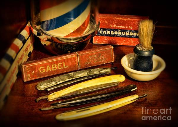 Taper Photograph - Barber - Vintage Barber by Paul Ward