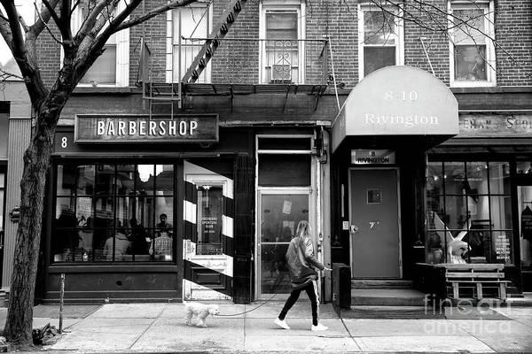 Photograph - Barbershop Walk by John Rizzuto