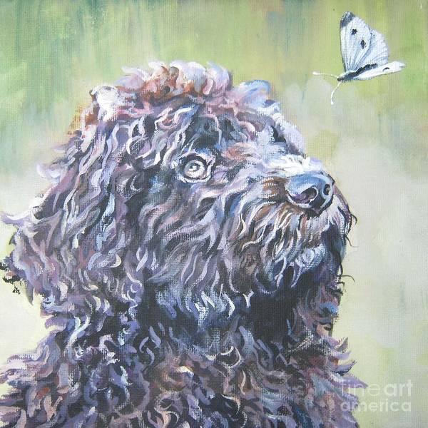 Wall Art - Painting - Barbet by Lee Ann Shepard