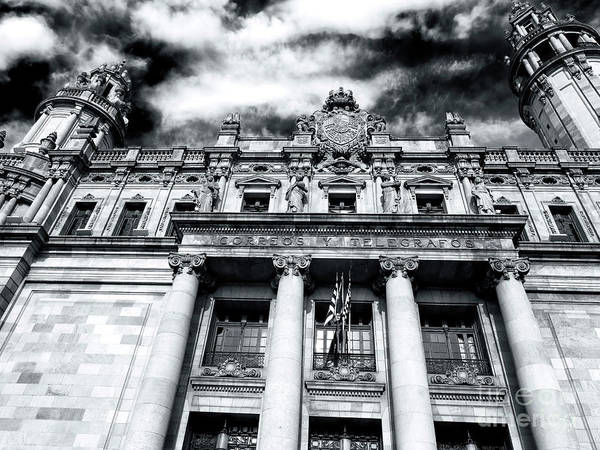 Photograph - Barcelona Central Post Office by John Rizzuto