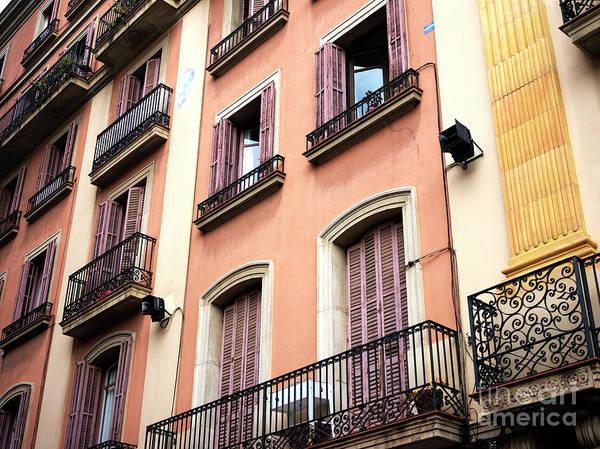 Photograph - Barcelona Design by John Rizzuto