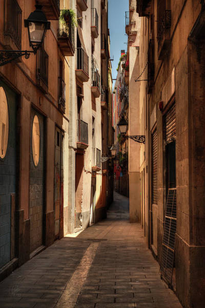 Photograph - Barcelona - Gothic Quarter 004 by Lance Vaughn