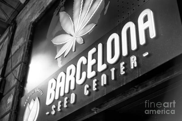 Photograph - Barcelona Seed Center by John Rizzuto