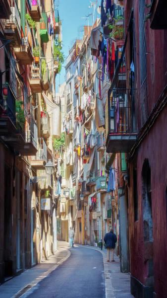 Photograph - Barcelona Street by Joan Carroll