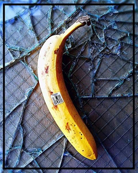 Barcode Digital Art - Barcode Banana by Grace From Gadgets