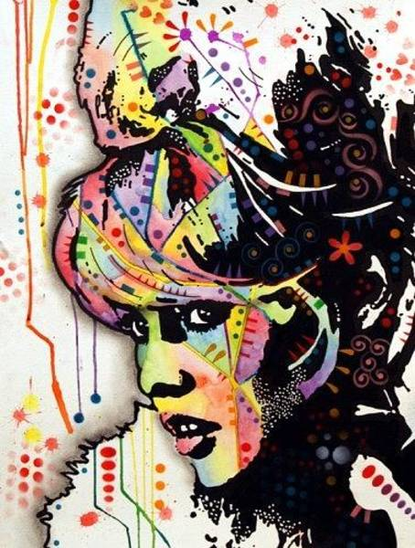 Create Painting - Bardot by Dean Russo Art