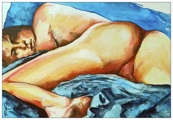 Painting - Naked Bare Truth by Rene Capone