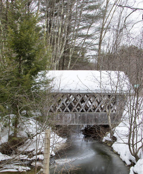 Photograph - Bare-walker Covered Bridge  by Betty  Pauwels