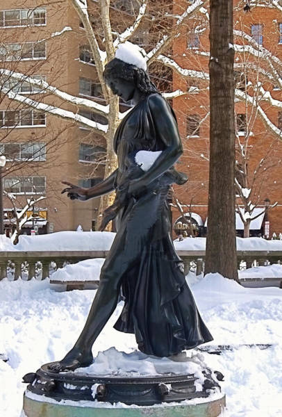 Rittenhouse Square Wall Art - Photograph - Barefoot In The Park by Rona Black