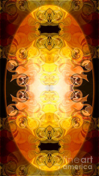 Digital Art - Barely Contained Excitement Abstract Organic Bliss Art By Omaste by Omaste Witkowski