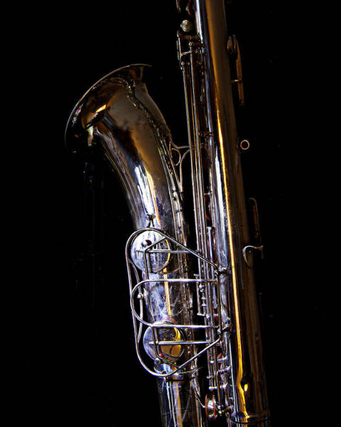 Photograph - Bari Sax by Jim Mathis