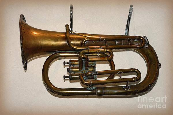 Wall Art - Photograph - Baritone Horn 1910 By Kaye Menner by Kaye Menner