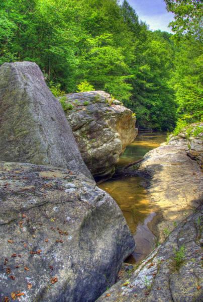 Photograph - Bark Camp Creek 9 by Sam Davis Johnson