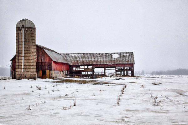 Photograph - Barn 19 by CA  Johnson