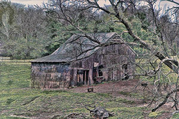 Photograph - Barn 205-4-2015 by Ericamaxine Price