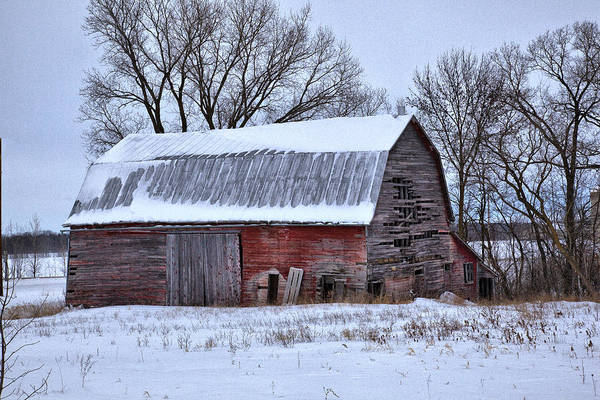 Photograph - Barn 4 by CA  Johnson