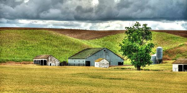 Photograph - Barn And Shed by Jerry Sodorff
