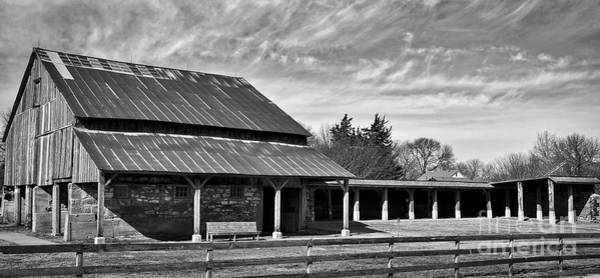 Photograph - Barn And Stables by Kirt Tisdale