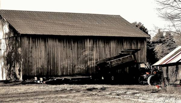 Photograph - Barn And Truck by Buddy Scott