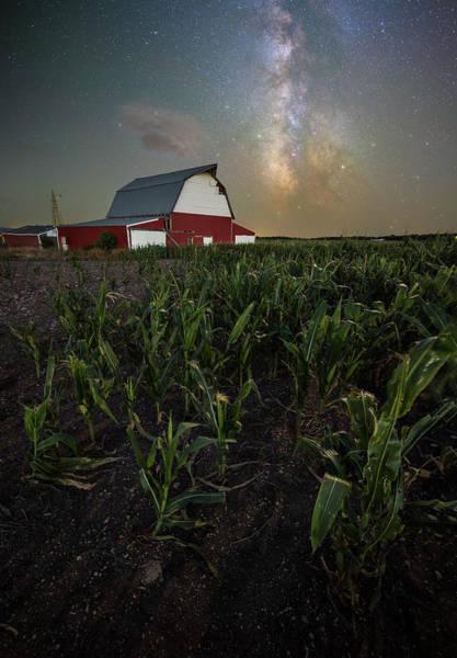 Wall Art - Photograph - Barn Astronomy 2  by Aaron J Groen