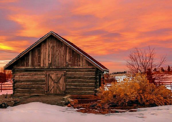 Wall Art - Photograph - Barn At Hidden Mesa by Dawn Key