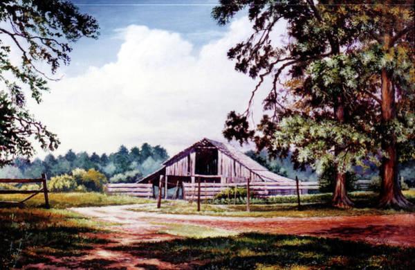 Painting - Barn At Honey Island by Randy Welborn