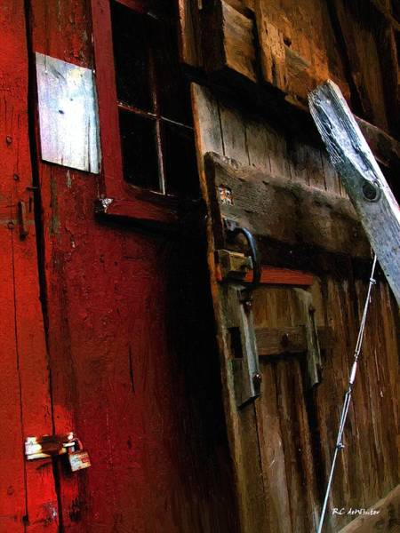 Painting - Barn Disassembled by RC DeWinter