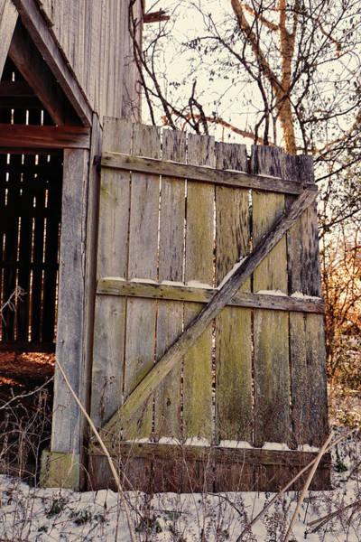 Photograph - Barn Door 2018-01-19_887 by Ericamaxine Price