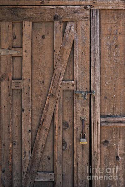 Photograph - Barn Door by Ana V Ramirez