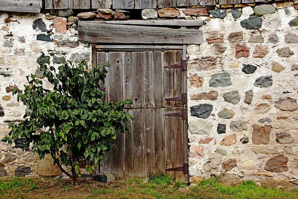 Knot Hole Photograph - Barn Door by Debbie Oppermann