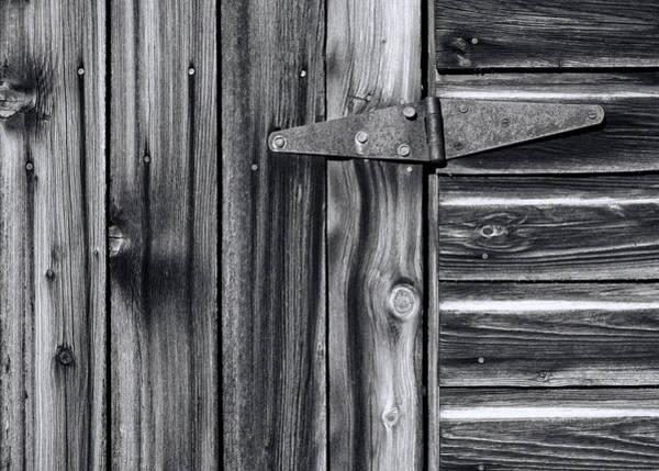 Wall Art - Photograph - Barn Door Detail by Wayne Sherriff