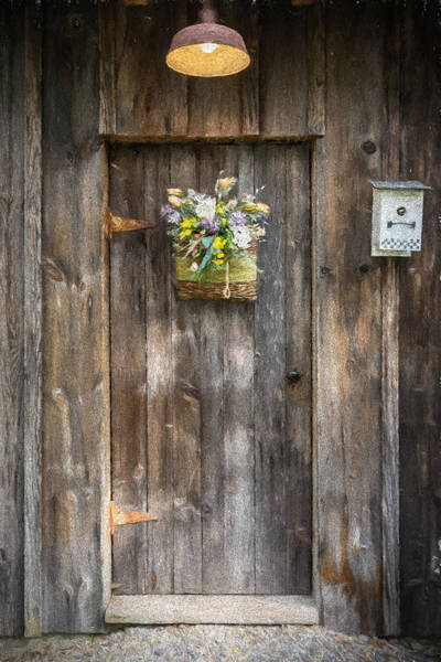 Photograph - Barn Door by Guy Whiteley