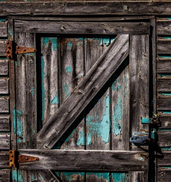 Photograph - Barn Door by Michael Ash